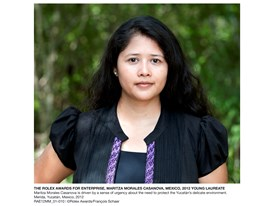 The Rolex Awards for Enterprise, Maritza Morales Casanova, Mexico, 2012 Young Laureate