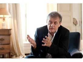 Theatre mentor Patrice Chéreau in Paris.