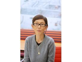 Mentor Kazuyo Sejima at the office of Kazuyo Sejima & Associates in Tatsumi.