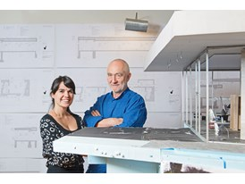 Peter Zumthor, mentor and Gloria Cabral, protégée