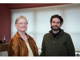Jennifer Tipton, mentor and Sebastián Solórzano Rodrígues, protégé