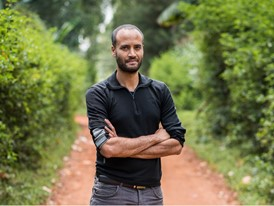 Laureate Andrew Bastawrous, CEO of Peek, in Kitale, Kenya, where he plans to set up a centre of excellence.