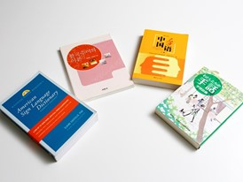 Sign language dictionaries in English, Korean, Chinese and Japanese.