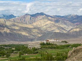 Phyang monastery in Ladakh.