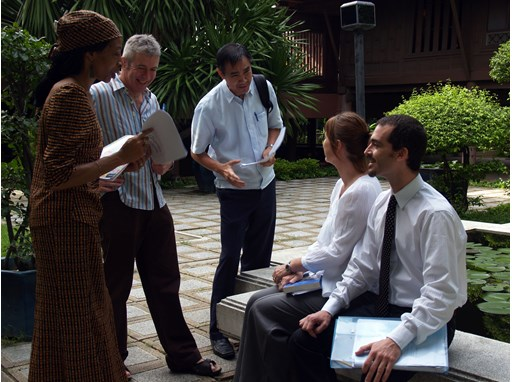 The Rotary Peace Center at Chulalongkorn University in Bangkok, Thailand offers a three-month professional development
