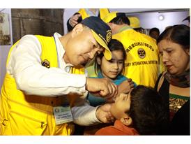 Rotary Celebrates India's First Polio-Free Year