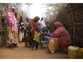 Kenya health workers