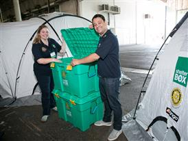 Rotary and ShelterBox renew partnership to aid disaster survivors worldwide