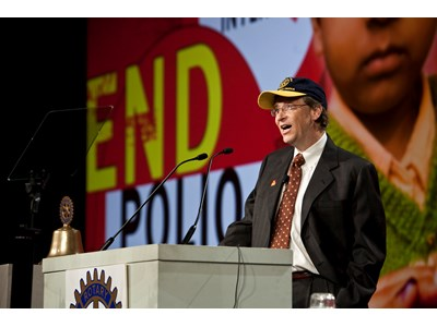 Rotary Clubs Worldwide Meet $200 Million Fundraising Challenge For Polio Eradication