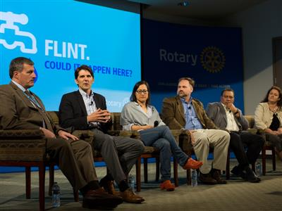Rotary hosts panel on drinking water safety in Chicago