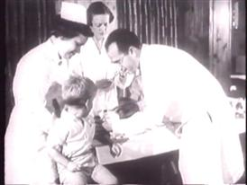 Historical Footage: Dr. Jonas Salk Finding a Cure for Polio