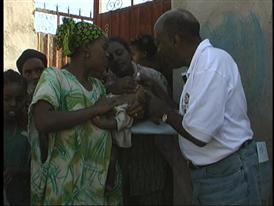 Rotary International Members Fight Against Polio
