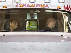DFW Ambulance with Medics