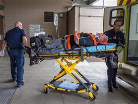 DFW Medics Arrive at Hospital