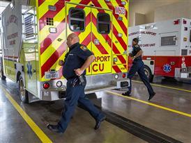DFW Medics Receive a Callout