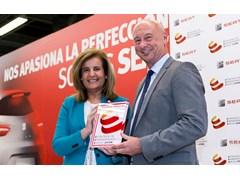 Spanish Minister for Employment Fátima Báñez praises SEAT