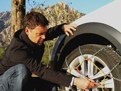 The Easy Way to Install Snow Chains
