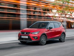 World Premiere of the New SEAT Arona TGI at the Paris Motorshow