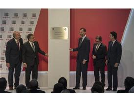 Visit by King Felipe VI of Spain culmination of SEAT Ibiza's 30th anniversary 1