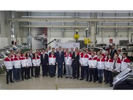 Visit by King Felipe VI of Spain culmination of SEAT Ibiza's 30th anniversary 4