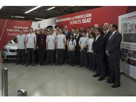 Visit by King Felipe VI of Spain culmination of SEAT Ibiza's 30th anniversary 9
