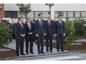 Visit by King Felipe VI of Spain culmination of SEAT Ibiza's 30th anniversary 12