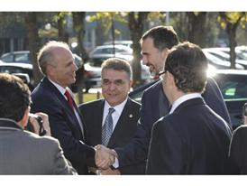 Visit by King Felipe VI of Spain culmination of SEAT Ibiza's 30th anniversary 16