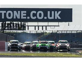 The SEAT Leon Eurocup 2015 at Silverstone