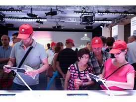 Visitors at the SEAT open door event discover the essence of the brand through interactive experiences