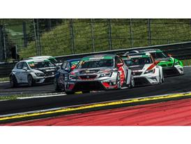 The SEAT Leon Eurocup at the Red Bull Ring in Austria