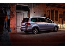 SEAT Alhambra, exterior, static shot, 34 rear view