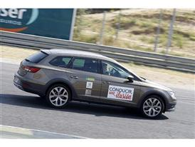 The SEAT Leon X-PERIENCE, another one of the models chosen to participate in the event