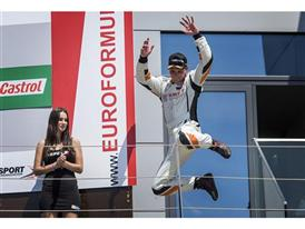 Shane Anthony Williams (Wolf-Power Racing) debuted in the SEAT Leon Eurocup with two podiums at the Red Bull Ring (2)