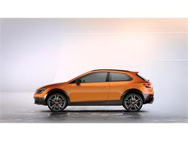 SEAT Leon Cross Sport Show Car, exterior, static shot, side view