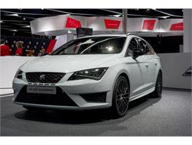 The New SEAT Leon ST Cupra 290HP at the Frankfurt Motorshow 2015