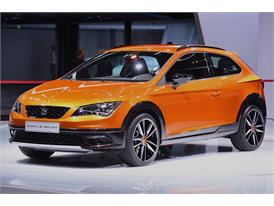 The New SEAT Leon Cross Sport at the Frankfurt Motorshow 2015