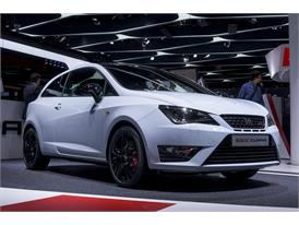 The New SEAT Ibiza SC Cupra 192HP at the Frankfurt Motorshow 2015