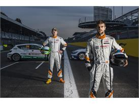 Stian Paulsen(Paulsen Racing), hungry challenger and Pol Rosell(Baporo Motorsport), holder current Leon Eurocup crown 3