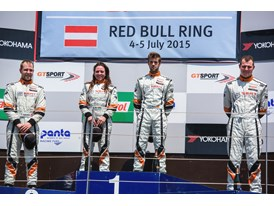 Hungarian race car driver Edina Bús has stepped onto the podium on several occasions