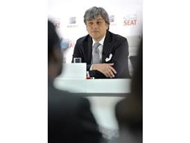 SEAT - Executive Committee President Luca de Meo took stock of the company's 2015 results