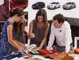 The Color&Trim team is dedicated to creating the colour of cars of the future