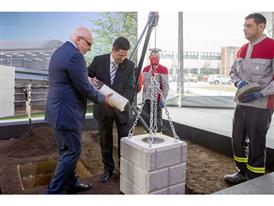 SEAT lays the first stone of the new Health Care and Rehabilitation Centre at the Martorell factory