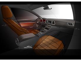 The New SEAT ATECA, design sketch