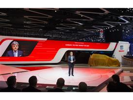 Chairman of the Executive Committee of SEAT, Luca de Meo,with the New SEAT ATECA at Geneva Motorshow