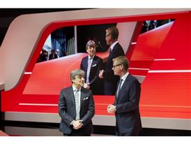 Chairman of the Executive Committee of SEAT, Luca de Meo, and Executive Vice-President of SEAT, Dr. Matthias Rabe