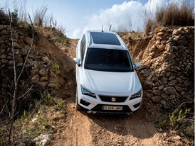 The SEAT Ateca springs into action for the first time