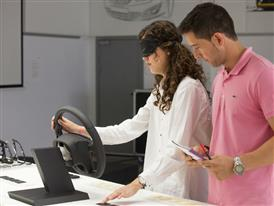 A dedicated team at SEAT works on studying the sensations customers perceive when touching elements of a car