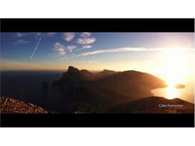 Aerial image of Formentor Cape (Mallorca)