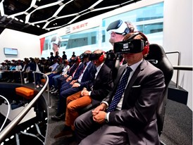 Virtual reality headsets enable viewers to tour Barcelona, the company's birthplace