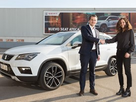 SEAT gives an Ateca on loan to BeMobile to develop mobility apps for the connected car